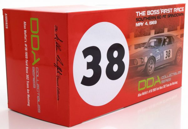 Ford Boss 302 Trans Am Mustang 1969 Nr# 38 Allan Moffat's Rood 1-18 GMP/ACME Limited Edition