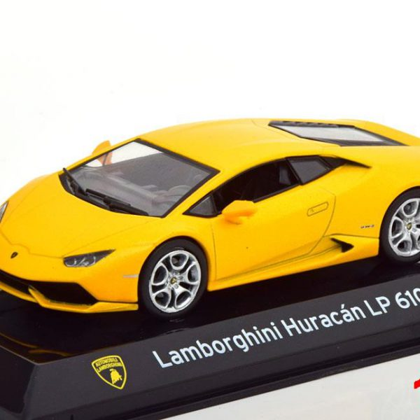 Lamborghini Huracan LP610-4 2014 Geel Metallic 1-43 Altaya Super Cars Collection