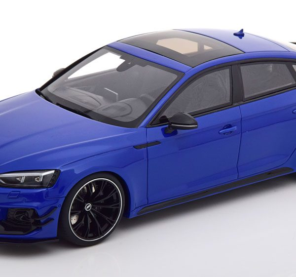 "Audi RS5-R Sportback ""ABT"" 2019 Blauw Metallic 1-18 GT Spirit Limited 999 Pieces"