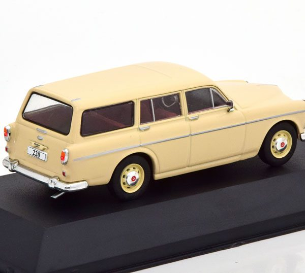 Volvo 220 Amazon 1967-1969 Beige 1-43 Atlas Volvo Collection
