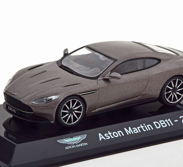 Aston Martin DB11 2016 Grijs Metallic 1-43 Altaya Super Cars Collection