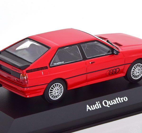 Audi Quattro 1980 Rood 1-43 Maxichamps