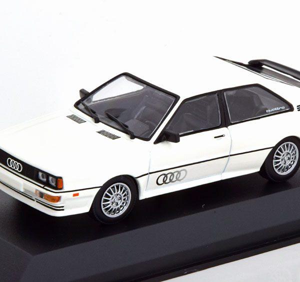 Audi Quattro 1980 Wit 1-43 Maxichamps