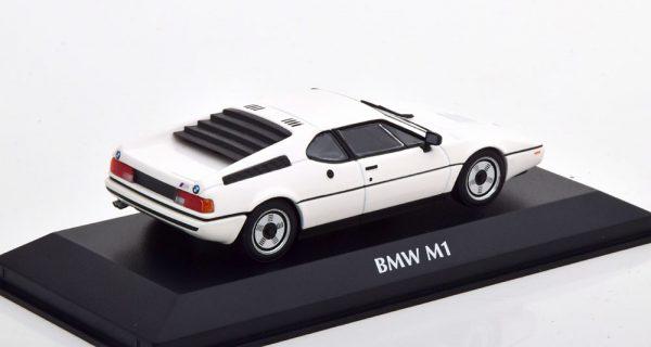 BMW M1 1979 Wit 1-43 Maxichamps