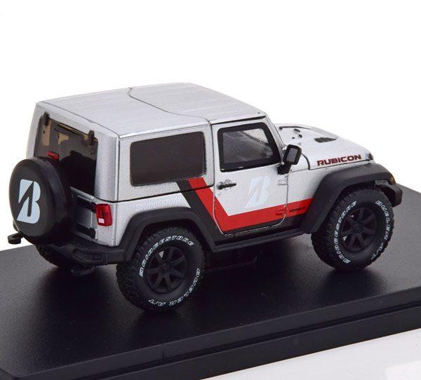 Jeep Wrangler Rubicon Bridgestone 2014 Zilver 1-43 Greenlight Collectibles