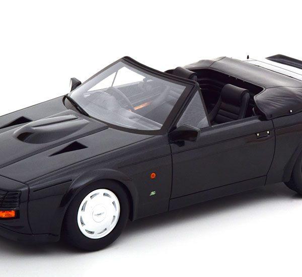 Aston Martin Zagato Spyder Cabriolet 1987 Zwart 1-18 Cult Scale Models