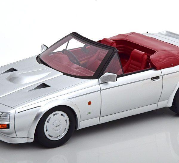 Aston Martin Zagato Spyder Cabriolet 1987 Zilver 1-18 Cult Scale Models