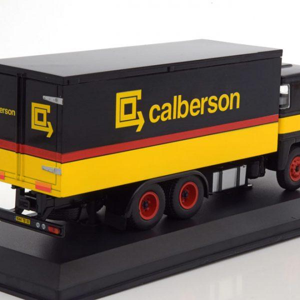 "Scania 140 V8 1971""Calberson"" Geel / Zwart / Rood 1-43 Ixo Models"