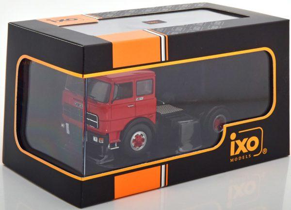 Fiat 619 N1 1980 Rood / Zwart 1-43 Ixo Models