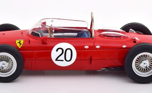 Ferrari 156 Sharknose #20 GP Frankrijk 1961 Graf Berghe von Trips Rood 1-18 CMR Models
