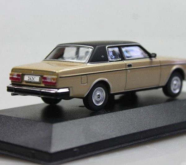 Volvo 262C 1977 Coupe Goud /Zwart 1-43 Atlas Volvo Collection