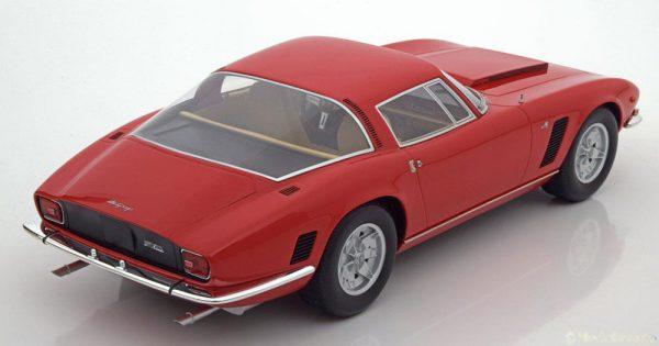 Iso Grifo 7 Litri IR8 1972 Rood 1-18 BOS Models Limited 1000 Pieces