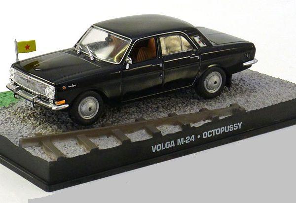 "Volga M-24 James Bond ""Octopussy"" Zwart 1-43 Altaya James Bond 007 Collection"