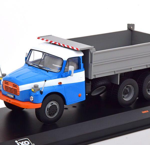 Tatra T 148 S3 Kipper 1977 Blauw / Grijs 1-43 Ixo Models