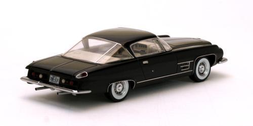 Chrysler Dual Ghia L6.4 1957 Zwart 1-43 Neo Scale Models