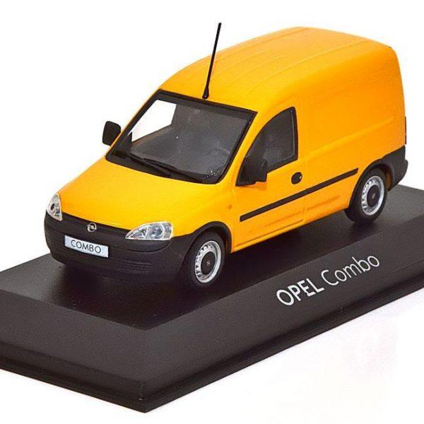 Opel Combo Geel 1-43 Minichamps ( Dealer )