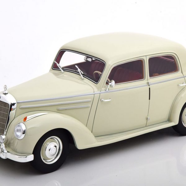 Mercedes-Benz 220 (W187) Limousine 1953 Wit 1-18 Cult Scale Models