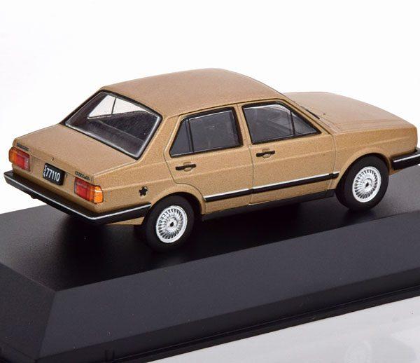 Volkswagen Gacel GL Limousine 1983 Bruin Metallic 1-43 Altaya