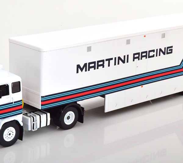 "Volvo F88 Martini Racing Team ""Martini"" Wit 1-43 Ixo Models"