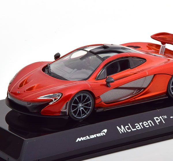 McLaren PI 2013 Oranje Metallic 1-43 Altaya Super Cars Collection