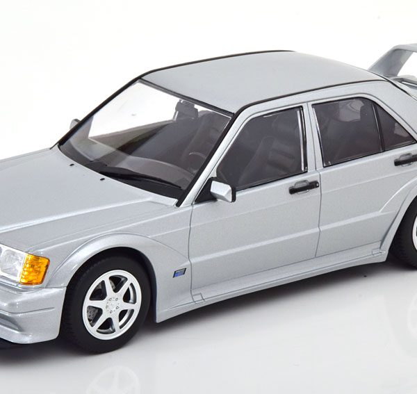 Mercedes-Benz 190E 2.5-16 Evo 2 1990 Zilver 1-18 Minichamps Limited 804 Pieces