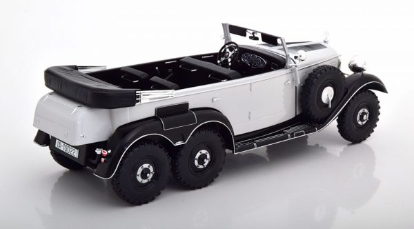 Mercedes-Benz G4 (W131) Grijs / Zwart 1-18 MCG Models