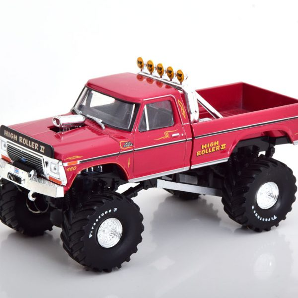 """Ford F-250 High Roller II 1979 """"Monster Truck"""" Rood 1-43 Greenlight Collectibles"""