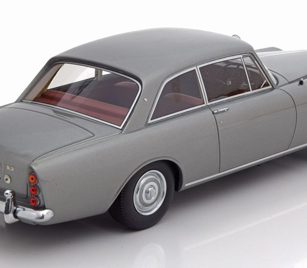 Bentley S3 Continental Mulliner Park Ward FHC 1963 Grijs Metallic 1-18 BOS Models Limited 1000 Pieces