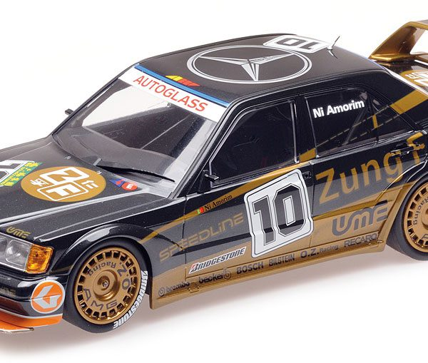 "Mercedes-Benz 190E 2.5-16 Evo 2 No.10, Macau Guia Race 1991 ""Zung Fu"" Ni Amorim 1-18 Minichamps Limited 150 Pieces"
