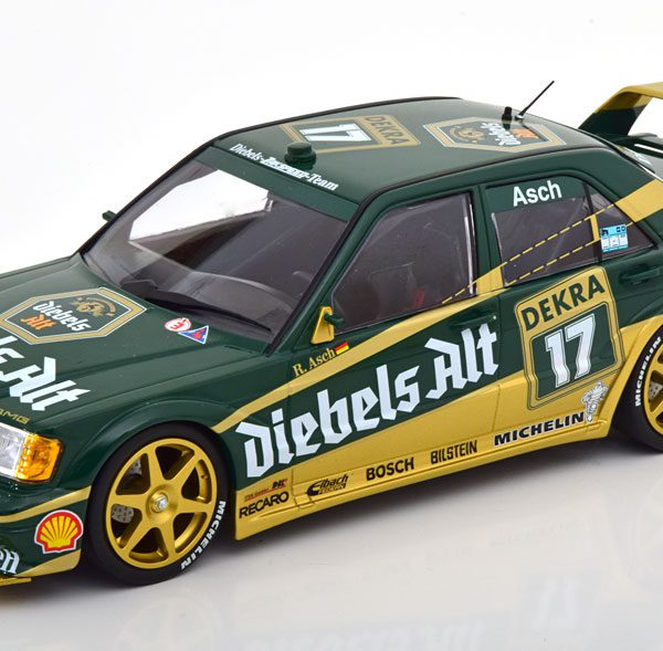 "Mercedes-Benz 190E 2.5-16 Evo 2 No.17, DTM 1992 ""Diebels Alt"" Asch 1-18 Minichamps Limited 402 Pieces"