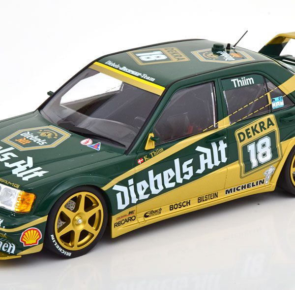 "Mercedes-Benz 190E 2.5-16 Evo 2 No.18, DTM 1992 ""Diebels Alt"" Thiim 1-18 Minichamps Limited 402 Pieces"