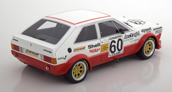 Volkswagen Scirocco 1 Gr.2 No.60, ETCC 1978 Stocker/Nowak 1-18 BOS Models Limited 504 Pieces
