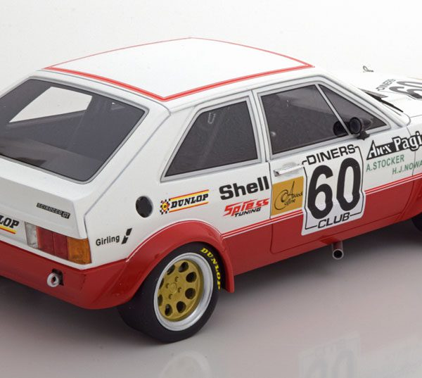 Volkswagen Scirocco 1 Gr.2 No.60, ETCC 1978 Stocker/Nowak 1-18 BOS Models Limited 504 Pieces