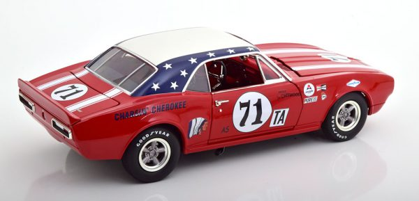 Chevrolet Camaro 1967 No.71, 24h Daytona 1968 Rood Joie Chitwood 1-18 GMP/ACME Limited 390 Pieces