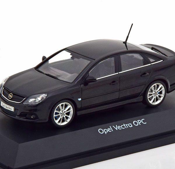 Opel Vectra OPC 2005 Zwart 1-43 Schuco ( Dealer )