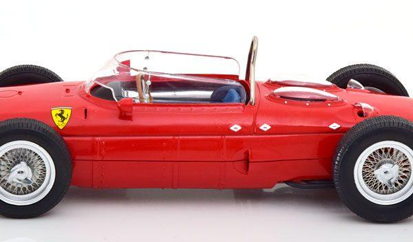 "Ferrari 156 Sharknose 1961 ""Plain Body Version"" Rood 1-18 CMR Models"