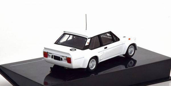 Fiat Abarth 131 Rally Specs 1978 met Extra Velgen Wit 1-43 Ixo Models