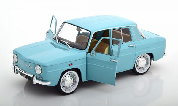 Renault 8 Major 1967 Turquoise 1-18 Solido