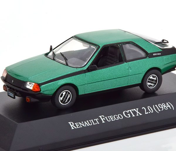 Renault Fuego GTX 2.0 ( 1984 ) Groen Metallic 1-43 Altaya