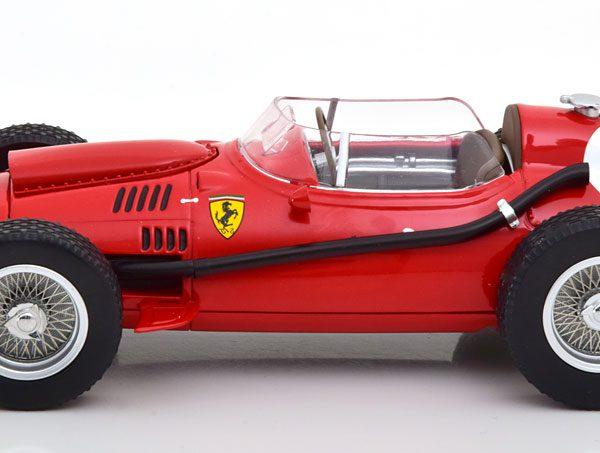 Ferrari Dino 246 #1 F1 Winner GP England 1958 Peter Collins Rood 1-18 CMR Models