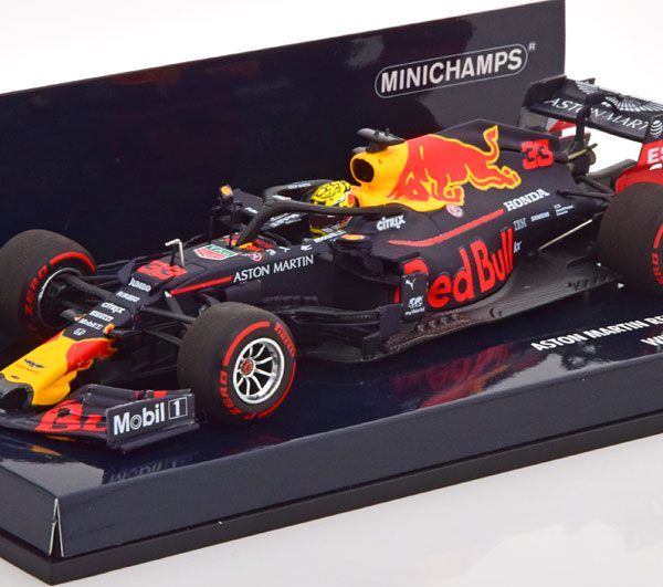 Aston Martin Red Bull Racing RB15 #33 Winner Max Verstappen Oostenrijks GP F1 2019 1:43 Minichamps Limited 750 Pieces
