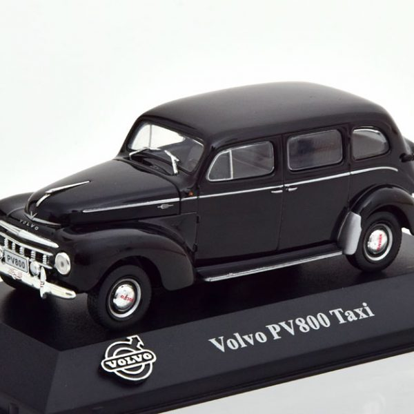 Volvo PV 800 Taxi Zwart 1-43 Atlas Volvo Collection