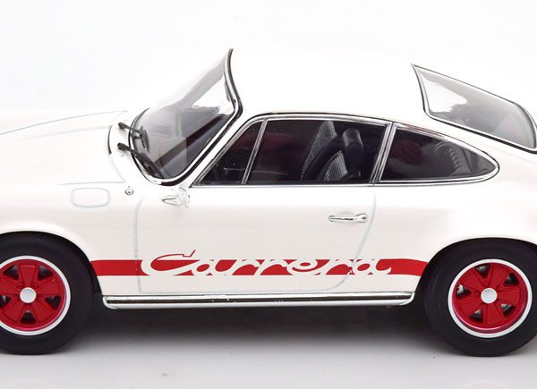 Porsche 911 Carrera RS 2.7 Touring 1973 Wit / Rood 1-18 Norev