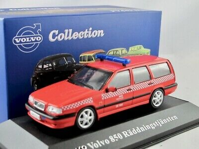 Volvo 850 Raddning Rood 1-43 Atlas Volvo Collection