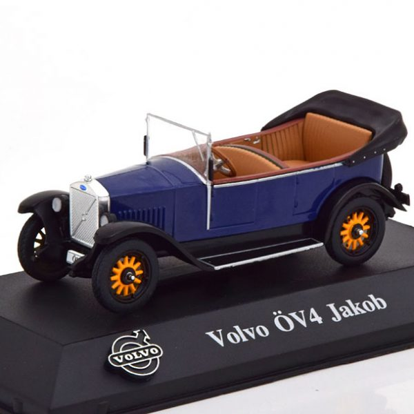 Volvo ÖV4 Jakob 1927 -1929 Blauw 1-43 Atlas Volvo Collection