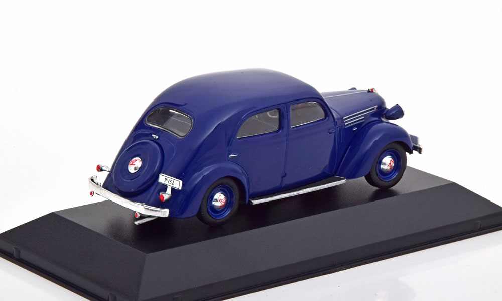 Volvo PV52 1937-1938 Blauw 1-43 Atlas Volvo Collection