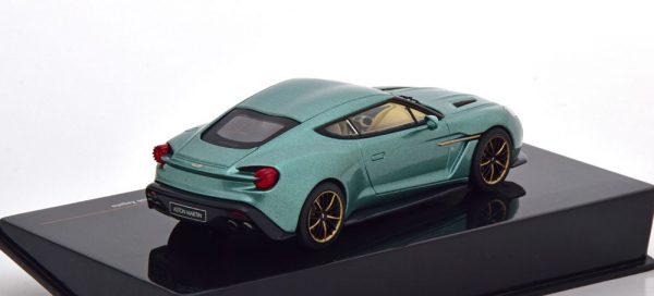 Aston Martin V12 Vanquish Zagato Groen Metallic 1-43 Ixo Models