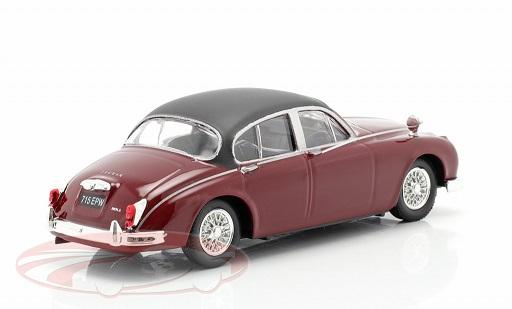 "Jaguar MK II ""TV Series Inspector Morse (1987-2000)"" Donker Rood 1:43 Cararama"