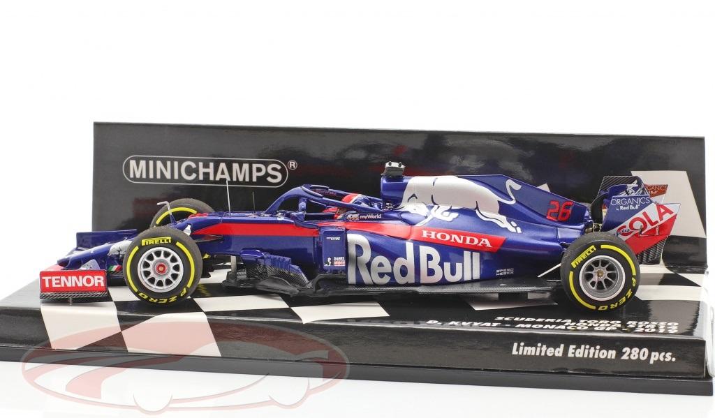 Toro Rosso Scuderia STR14 #26 Monaco GP F1 Daniil Kvyat 2019 1:43 Minichamps Limited 280 Pieces