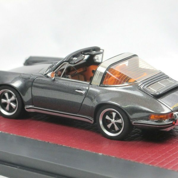 "Porsche 911 Targa ""Singer"" Grijs Metallic 1:43 Matrix Scale Models Limited Edition"